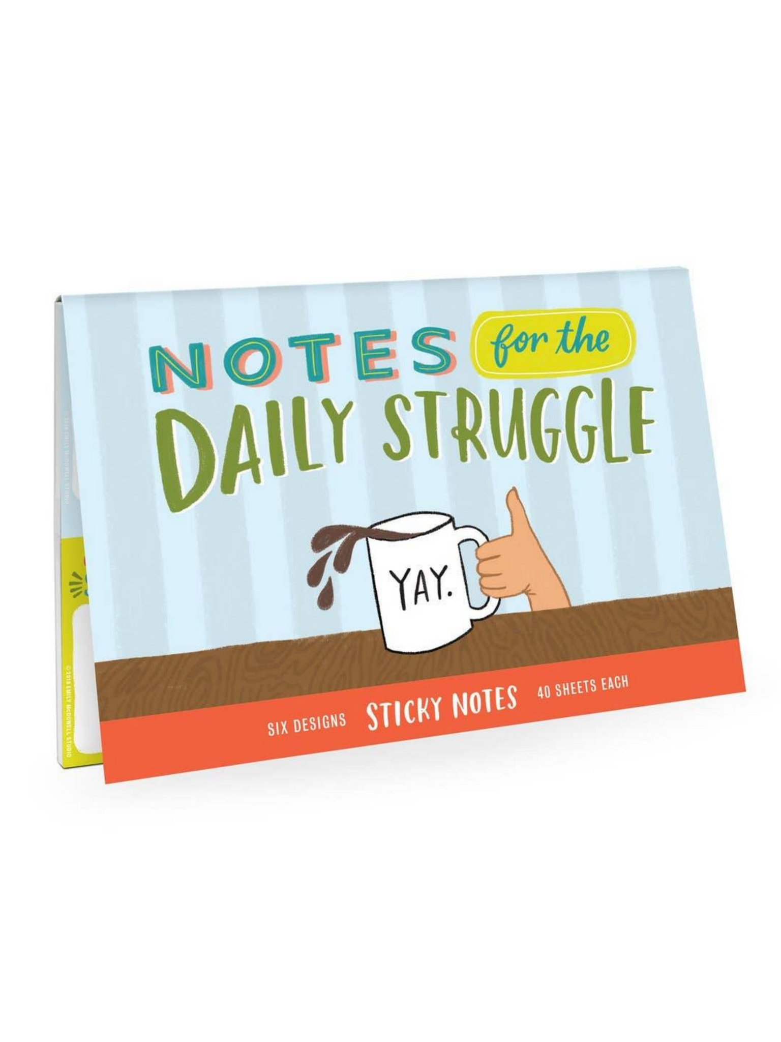 Emily McDowell - Daily Struggle Sticky Note Packet