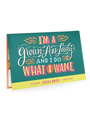 Emily McDowell - Grown Lady Sticky Note Packet