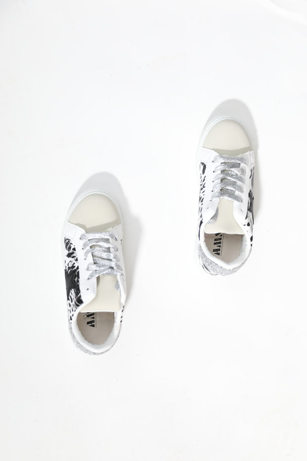 To The Stars White Sneakers