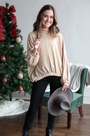 Cozy Cashmere Tan Sweater