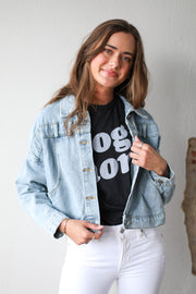 Trendy Denim Jacket