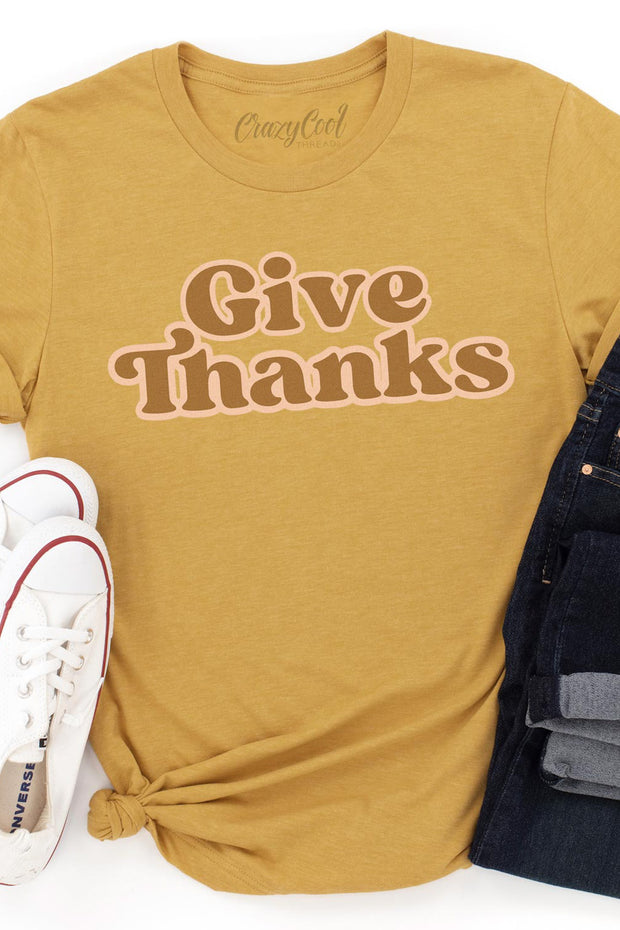 Give Thanks - Tee