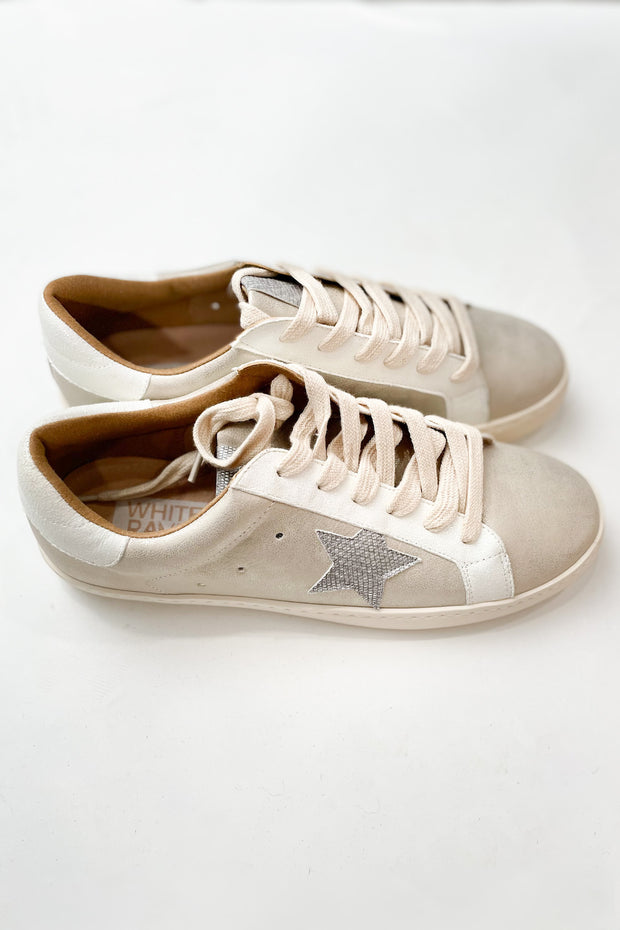 To The Stars Beige Sneakers