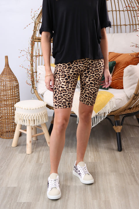 Fast As A Cheetah Multi Shorts