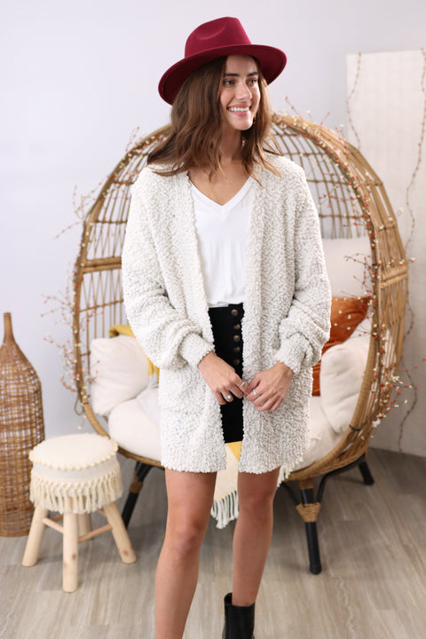 So This Is Love Bone Cardigan