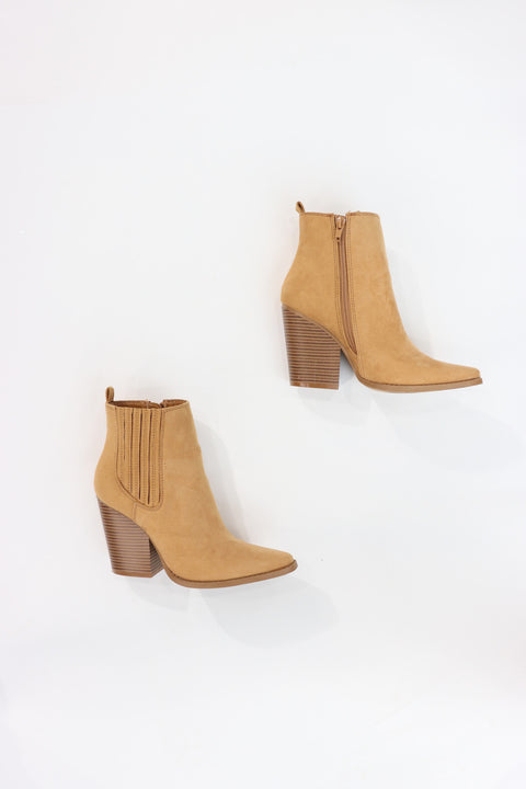 Alex Butterscotch Booties