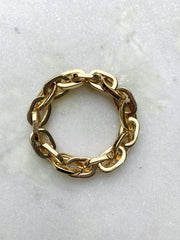 Linked To Me Gold Bracelet
