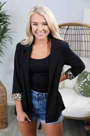 Wildly Chic Black Blazer
