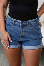 Not Your Mom's Medium Denim Shorts