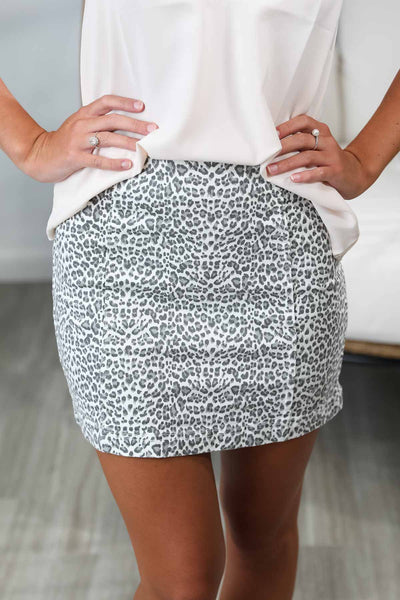 In The Jungle Leopard Skirt