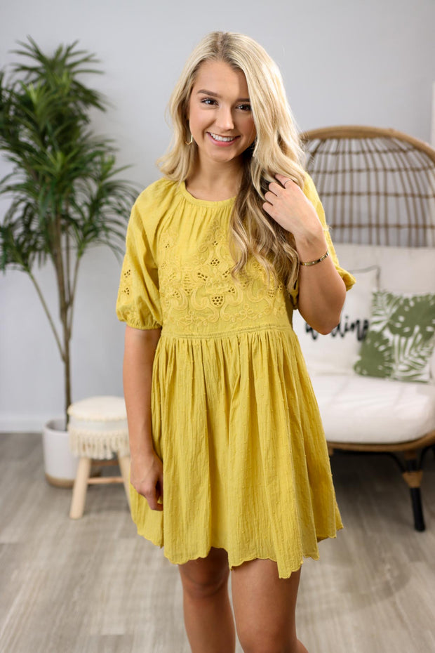 When Life Gives You Lemons Yellow Dress