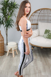 Wild And Free Snakeskin Activewear Set