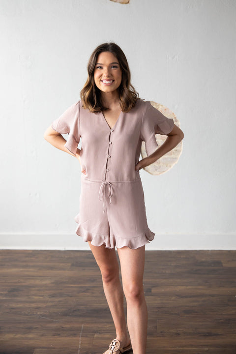 The Best Day Mink Romper