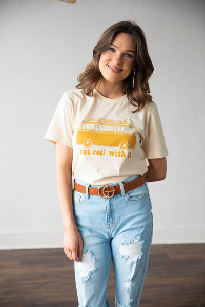 Just Roll With It Graphic Tee