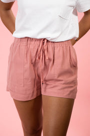 Walk On The Beach Pink Shorts