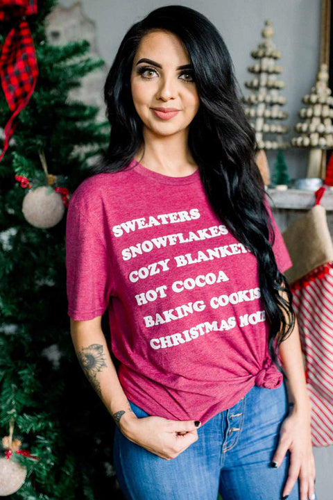 All The Holiday Things - Tee