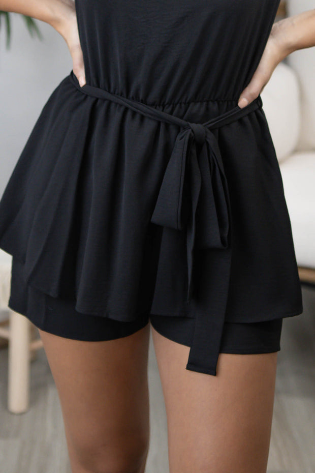Pretty Little Thing Black Romper