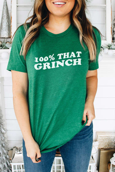 100% That Grinch - Tee