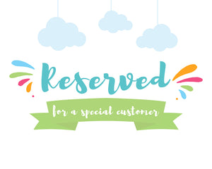 RESERVED Plush Toys