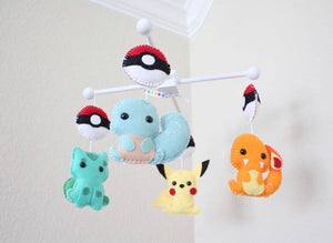 Pokémon Crib Mobile, Baby Crib Mobile, Gotta Have It All, Nursery Room Decor
