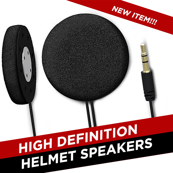 High Definition Helmet Speakers