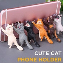 Load image into Gallery viewer, Cute Cat Phone Holder