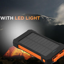 Load image into Gallery viewer, 30,000mAh Solar Charging Power Bank
