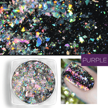 Load image into Gallery viewer, Holographic Nail Flakes