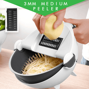 All-in-one Rotatable Vegetable Cutter
