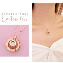 "Load image into Gallery viewer, 100 Languages ""I Love You"" Necklace"