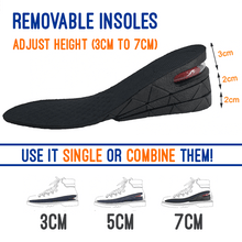 Load image into Gallery viewer, Unisex Height Boost Insoles