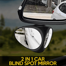 Load image into Gallery viewer, 2 In 1 Car Blind Spot Mirror