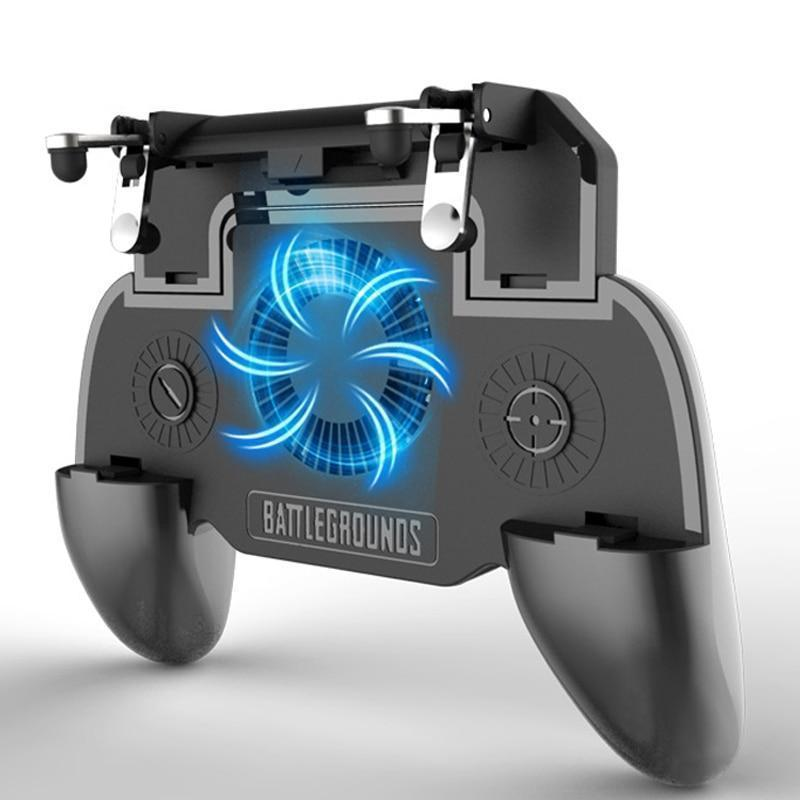 Mobile Gaming Controller with Cooling Fan
