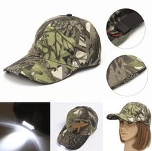 Load image into Gallery viewer, LED Headlamp Cap (Hand Motion Sensor)
