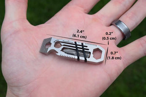 6 In 1 Multi-Tool Keychain