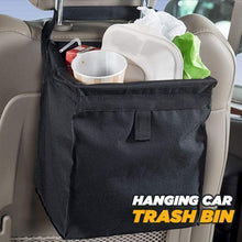 Load image into Gallery viewer, Hanging Car Trash Bin
