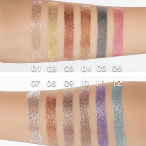 Metallic Glitter Liquid Eyeshadow