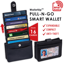 Load image into Gallery viewer, Pull-n-go Smart Wallet