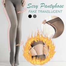 Load image into Gallery viewer, Ultra-warm Translucent-like Pantyhose