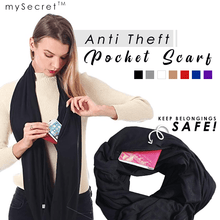 Load image into Gallery viewer, Anti Theft Scarf