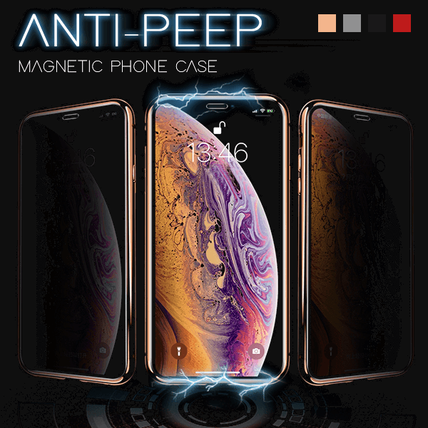 Ultra Privacy Magnetic iPhone Case