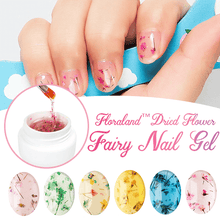 Load image into Gallery viewer, Floraland™ Dried Flower Fairy Nail Gel