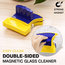 Load image into Gallery viewer, Double-sided Magnetic Glass Cleaner