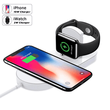 Load image into Gallery viewer, 2 In 1 Wireless Charging Pad