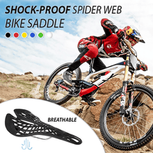 Load image into Gallery viewer, Shock-proof Spider-web Bike Saddle
