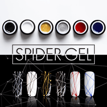 Load image into Gallery viewer, Spider Nail Art Gel
