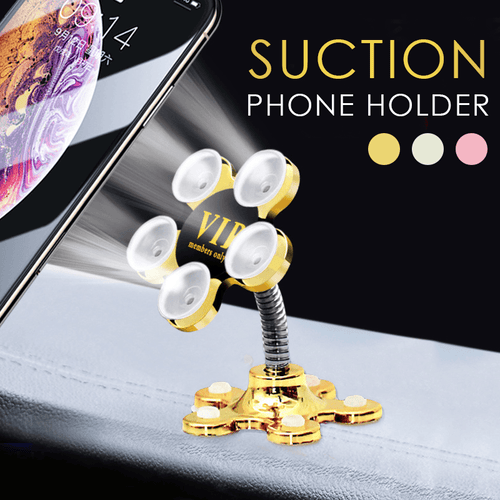 360° Magic Suction Phone Holder