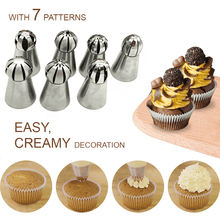 Load image into Gallery viewer, Pastry Sphere Nozzles Set (7PCS)