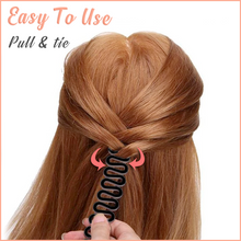 Load image into Gallery viewer, Quick-Tie Fishtail Braid Stick (3 PCS)