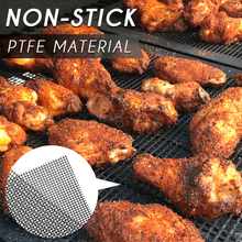 Load image into Gallery viewer, Non-stick Trimmable Mesh Grill Mat
